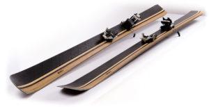 carbon holz ski selbst gemacht