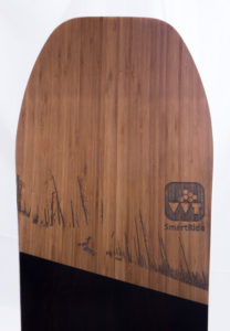 snowboard holz firmenkunde