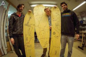 snowboard custom made workshop