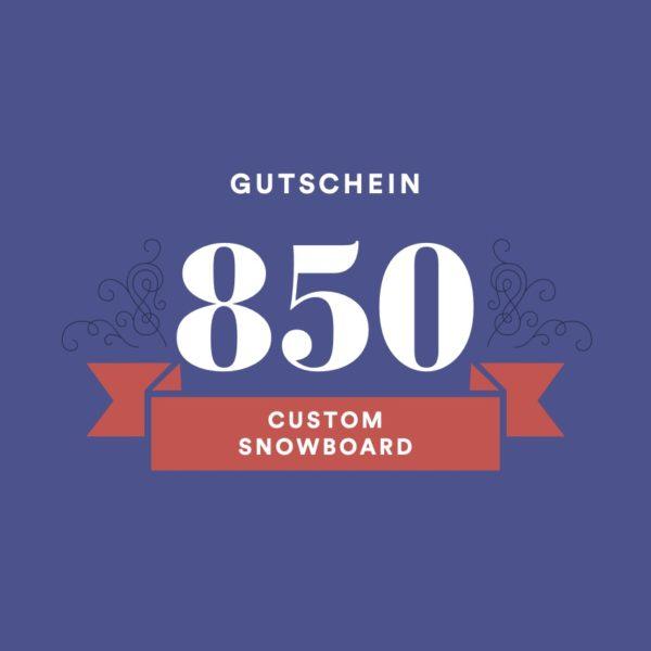 Gutschein-Custom-Snowboard